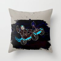 Space Dementia Throw Pillow