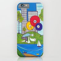 Puddle Fishing For Dream… iPhone 6 Slim Case
