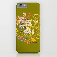 iPhone & iPod Case featuring The Pursuit of Joy by Mei Lee