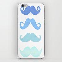 Moustache iPhone & iPod Skin