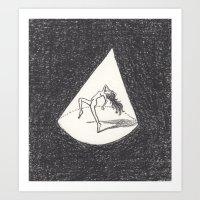 Tiny Dancer Relishes The… Art Print