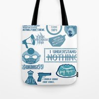 The Office - Quotes And … Tote Bag