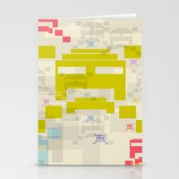 The Invaders! Stationery Cards