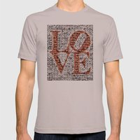 We Are Philadelphia - Love Mens Fitted Tee Cinder SMALL