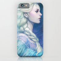 iPhone & iPod Case featuring Frozen by Artgerm™