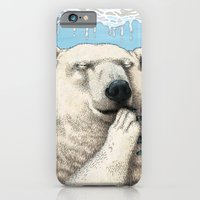iPhone Cases featuring Polar prayer by Carl Conway