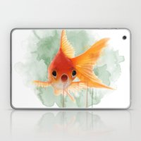 Goldfish Laptop & iPad Skin