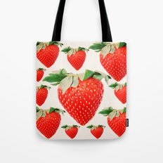 strawberry explosion Tote Bag
