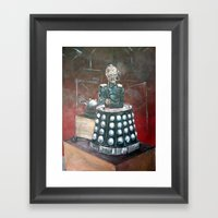 Davros Innocent X Framed Art Print