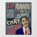 Romney's Illegals Canvas Print