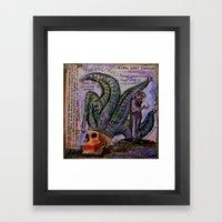 ALAS POOR YORICK Framed Art Print