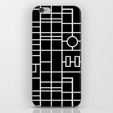 Map With Roundabout iPhone & iPod Skin