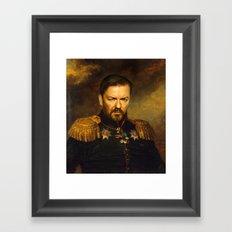 Ricky Gervais - Replacef… Framed Art Print