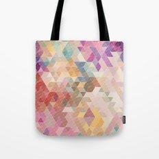 Soft Mini Triangles Tote Bag