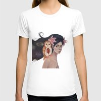 Mourning Pasts Womens Fitted Tee White SMALL