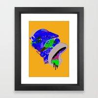 Homer 1. Framed Art Print