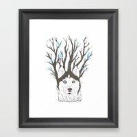 Siberian Framed Art Print