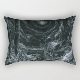 Rectangular Pillow - Lets tear it all down and rebuild it with meaning - Anthony Hurd