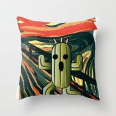 Cactilion Throw Pillow
