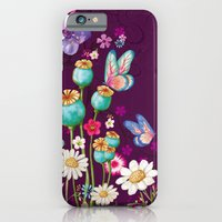 Purple Meadow iPhone 6 Slim Case