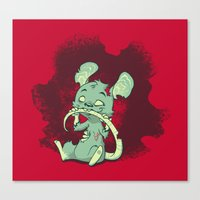 Zombie Mouse Canvas Print