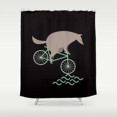 Wheelwolf Shower Curtain