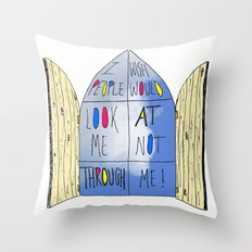 Life of a Window Throw Pillow