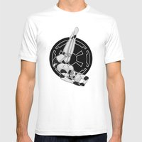 Star Wars Stormtrooper pinup Mens Fitted Tee White SMALL