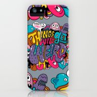 Things Might Get Weird iPhone (5, 5s) Slim Case