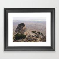 Guadalupe Mountains Nati… Framed Art Print