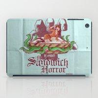 H.P. LoveKRAFT's  The Sandwich Horror iPad Case