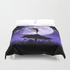 Fairy Silhouette 2 Duvet Cover