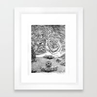 Mundo Perfecto Framed Art Print