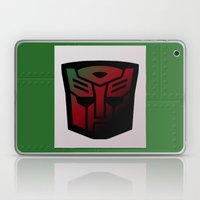 Transformers Generation 1: Rub Sign: Autobot Laptop & iPad Skin