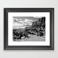 Capitol Reef National Pa… Framed Art Print