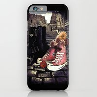 iPhone & iPod Case featuring BRONX KISS by Happi Anarky