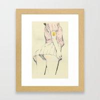 Mr Sparkle Butt Framed Art Print