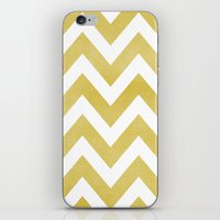 LINEN CHEVRON iPhone & iPod Skin