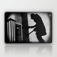 Die Toilette (in German) Laptop & iPad Skin