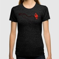 Cardinal Womens Fitted Tee Tri-Black SMALL
