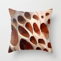 Nature's Patterns Throw Pillow
