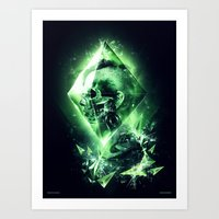 Radiation Art Print