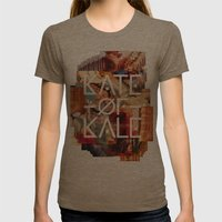 Kate Of Kale's Slut Aven… Womens Fitted Tee Tri-Coffee SMALL
