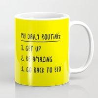 My Daily Routine Mug