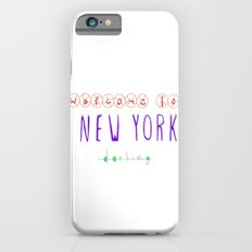 Welcome to New York Slim Case iPhone 6s