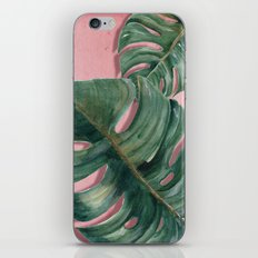monstera leaf  iPhone & iPod Skin