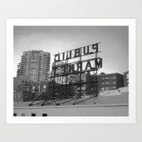 Public Market -- Seattle Art Print