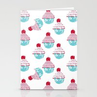 Who At My Cupcake? Stationery Cards