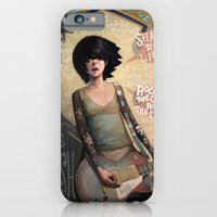 rock iPhone & iPod Cases featuring Rock the Casbah by Rudy Faber
