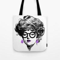 Gibson Girl Modern Tote Bag